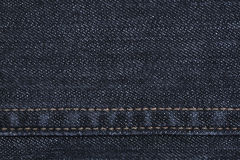 Blue jeans texture. Royalty Free Stock Images
