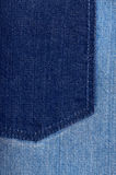 Blue jeans texture Stock Image