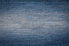 Blue jeans texture Royalty Free Stock Photo