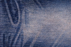 Blue jeans texture for backgroun Royalty Free Stock Photo