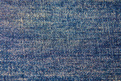 Blue jeans texture background Stock Images