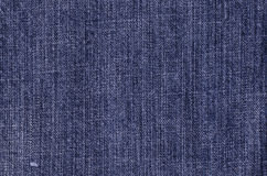 Blue jeans texture. Blue jeans background royalty free stock images