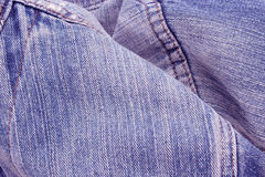 Blue jeans texture or background Royalty Free Stock Image
