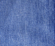 The blue jeans texture Royalty Free Stock Image