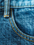 Blue jeans Royalty Free Stock Image