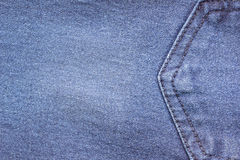 Blue jeans texture for background. Jeans abstract style closely. Royalty Free Stock Images