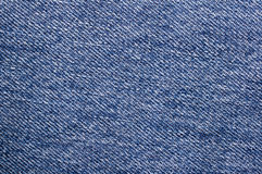 Blue jeans Texture Background. Macro Royalty Free Stock Image