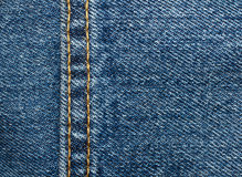 Blue jeans Texture Background. Macro Stock Photography