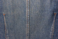 Blue jeans texture Royalty Free Stock Image