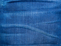 Blue jeans texture Stock Images
