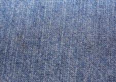 Blue jeans. Texture details of nostalgia Royalty Free Stock Photos