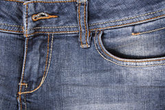 Blue jeans Texture like background Royalty Free Stock Photos