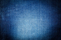Blue jeans texture. Royalty Free Stock Photography