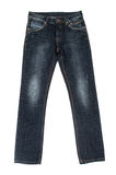 Blue jeans trouser Stock Photos