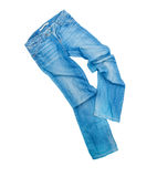 Blue jeans trouser Stock Photography