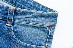Blue jeans trouser Stock Photo