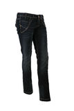 Blue jeans trousers Royalty Free Stock Photos