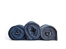 Blue Jeans trousers Stock Images