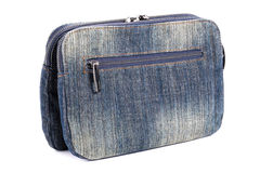 Blue jeans women bag Stock Photos