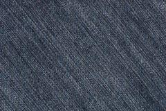 Blue Jeansdenim-Gewebebeschaffenheit (diagonal) vektor abbildung