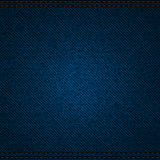 Blue Jeanshintergrund Stockbild