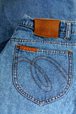 Blue Jeanstasche. Stockfotos