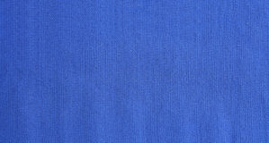 Blue jersey fabric texture as backround Stock Photography