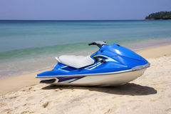 Blue Jetski Stock Images