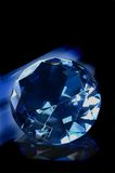 Blue jewel royalty free stock photography
