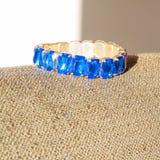 Blue jewel on the sun Stock Photo