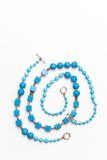 Blue jewelery Stock Images