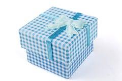 Blue Jewelry Box Royalty Free Stock Image
