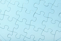Blue Jigsaw puzzle Royalty Free Stock Photo