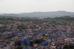 Blue city:Jodhpur Stock Images