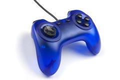 Blue joystick Stock Photography