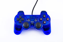 Blue joystick Royalty Free Stock Images