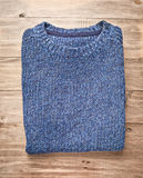 Blue jumper Stock Images