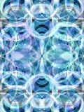 Blue Kaleidoscope Royalty Free Stock Photos