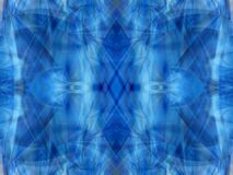 Blue kaleidoscope 3 Stock Image