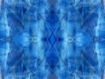 Blue kaleidoscope 3 Stock Image