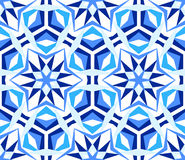 Free Blue Kaleidoscope Star Pattern Stock Photo - 91091490
