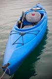 Blue Kayak Stock Photo