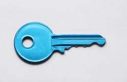 Blue key Royalty Free Stock Image