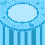 Blue kid background Royalty Free Stock Image