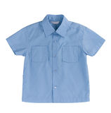 Blue kids shirt Stock Image