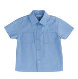 Blue kids shirt Stock Image