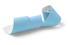 Blue kinesio tape Stock Photo