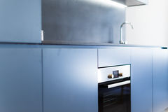 Free Blue Kitchen Cabinets Royalty Free Stock Photo - 68328225