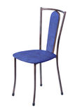 Blue Kitchen Chair Royalty Free Stock Photos