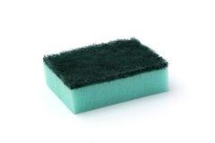 Blue Kitchen Sponge Stock Photo